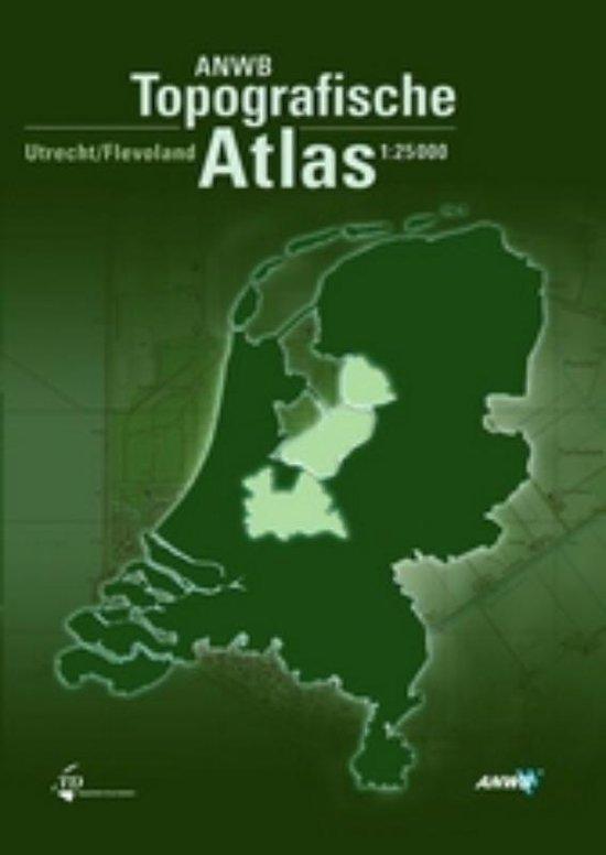 Boek cover ANWB Topografische Atlas Utrecht/Flevoland van Onbekend