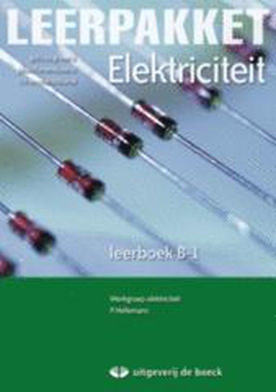 Leerpakket elektriciteit b-1 - leerboek (+ cd-rom) - Patrick Hellemans |