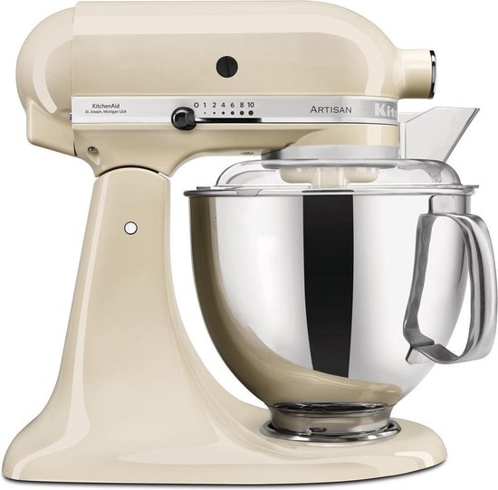 KitchenAid 5KSM175PSEAC - Keukenmachine - Almond Cream