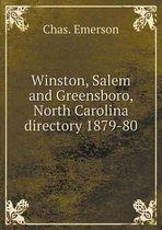 Winston, Salem and Greensboro, North Carolina Directory 1879-80