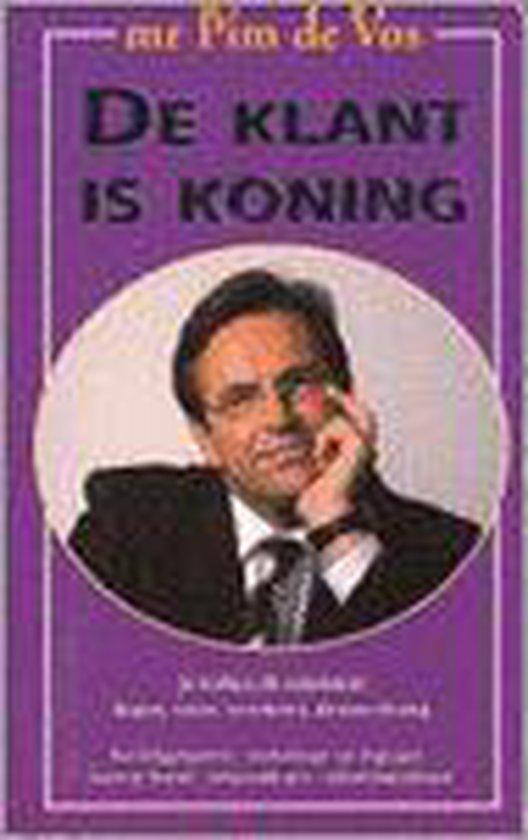 KLANT IS KONING - de Vos |