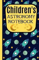 Children's Astronomy Notebook