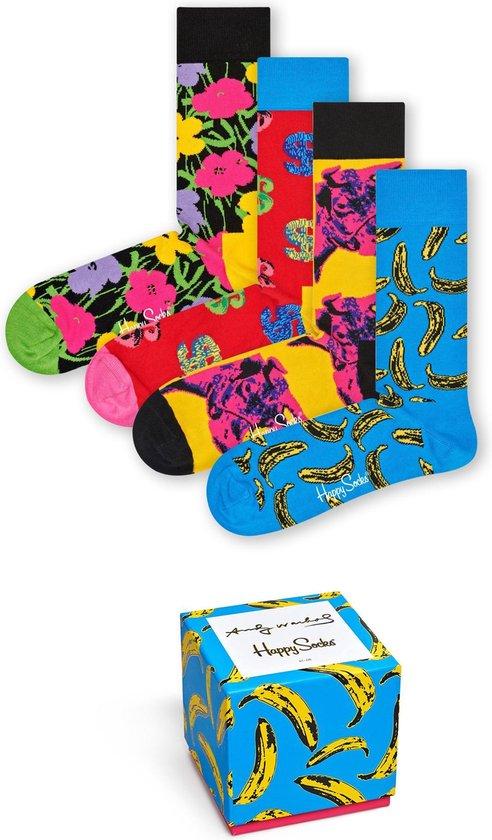 Happy Socks Andy Warhol Limited Edition Giftbox - Maat 36-40
