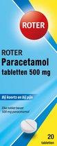 Roter Paracetamol - 20 tabletten - Pijnstillers