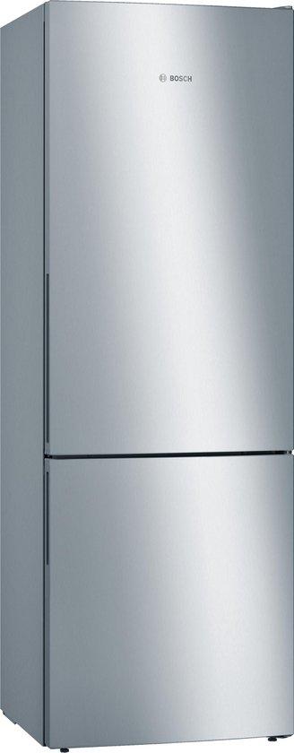 Koelkast: Bosch KGE49VI4A - Serie 4 - Koel-vriescombinatie - RVS, van het merk Bosch