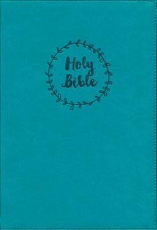 NIV, Value Thinline Bible, Large Print, Leathersoft, Teal, Comfort Print - Diverse auteurs | Fthsonline.com