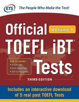 Boek cover Official TOEFL iBT Tests Volume 1, Third Edition van Educational Testing Service (Onbekend)