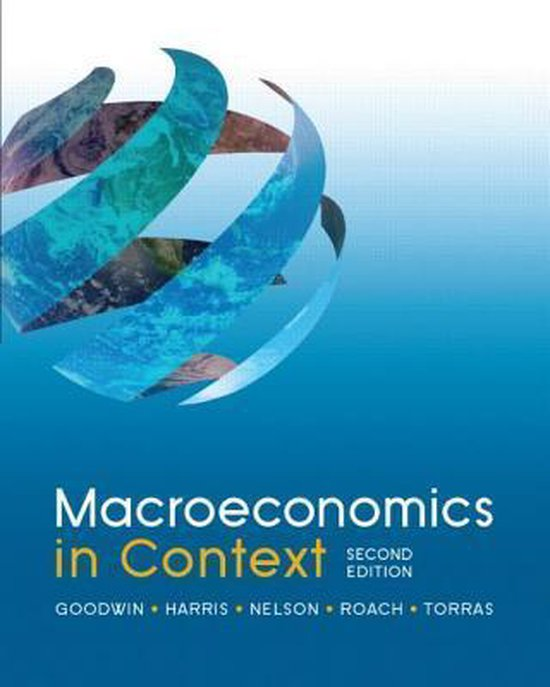 Boek cover Macroeconomics in Context, 2nd Edition van Neva Goodwin (Paperback)