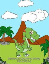 Dinosaur Coloring Books For Kids 3-8