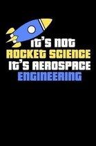 It's Not Rocket Science It's Aerospace Engineering