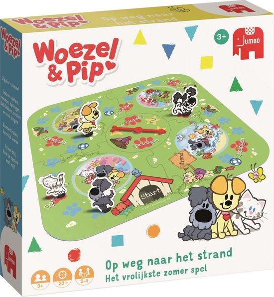 Afbeelding van het spel Woezel & Pip Op Weg Naar Het Strand Gelukspel Peuterspeelzaal