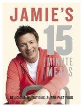 Boekomslag van 'Jamie's 15-Minute Meals'