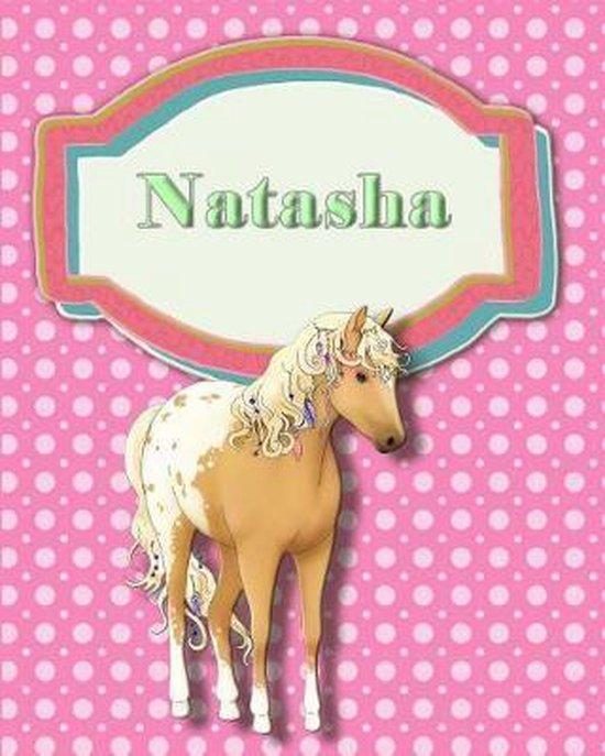 Handwriting and Illustration Story Paper 120 Pages Natasha