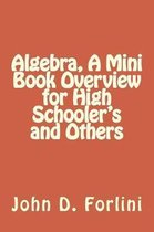 Algebra, A Mini Book Overview for High Schooler's and Others