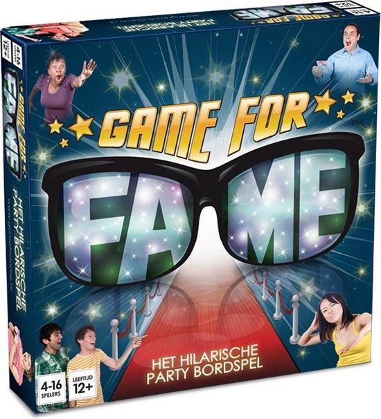 Game for Fame - bordspel - het grappige partyspel voor vrienden, volwassenen en families!