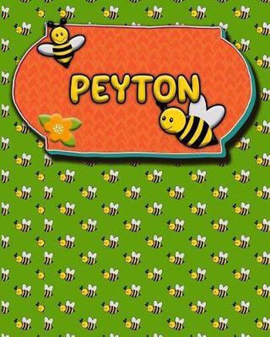 Handwriting Practice 120 Page Honey Bee Book Peyton