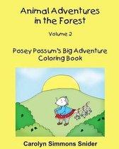 Posey Possum's Big Adventure Coloring Book