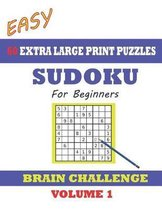 Sudoku for Beginners 60 Easy Extra Large Print Puzzles