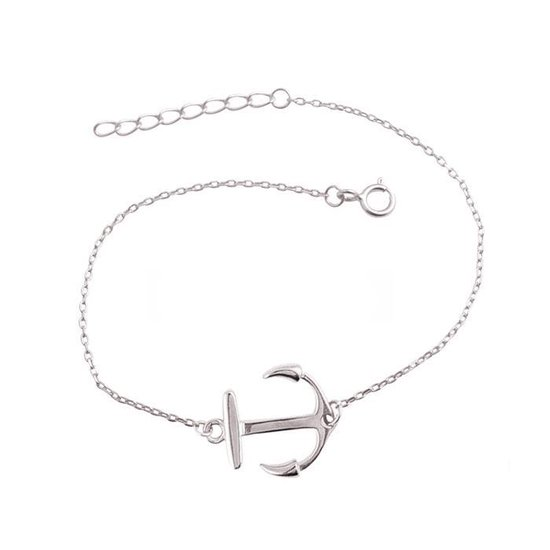 Fate Jewellery Armband FJ517 - Anker - 925 Zilver