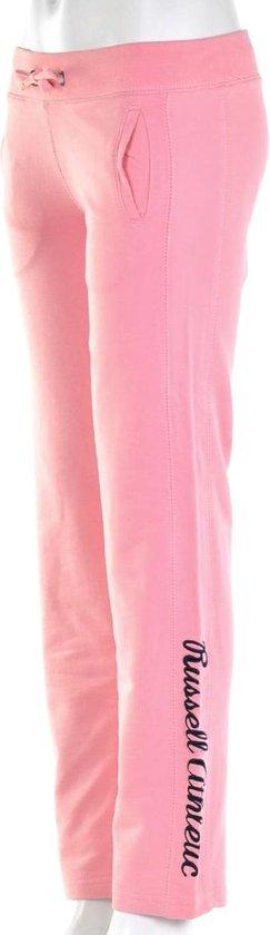Russell Athletic Open Leg Pant - Trainingsbroek - Kinderen - Maat 176 - Licht Roze