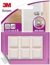 Stootdoppen 3M Bumpers - Schokdempende meubelbuffer  - deurstoppers - muurbeschermers