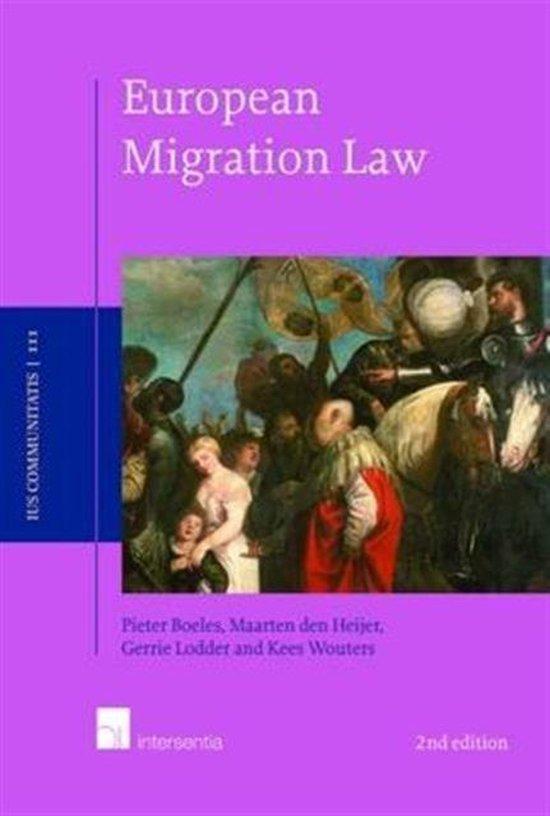 Boek cover European Migration Law van Pieter Boeles (Paperback)