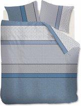 Beddinghouse Joshua Dekbedovertrek - Tweepersoons - 200x200/220 cm - Blue