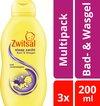 Zwitsal Baby Slaap Zacht Bad & Wasgel Lavendel - 3 x 200 ml - Voordeelverpakking