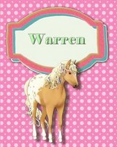 Handwriting and Illustration Story Paper 120 Pages Warren