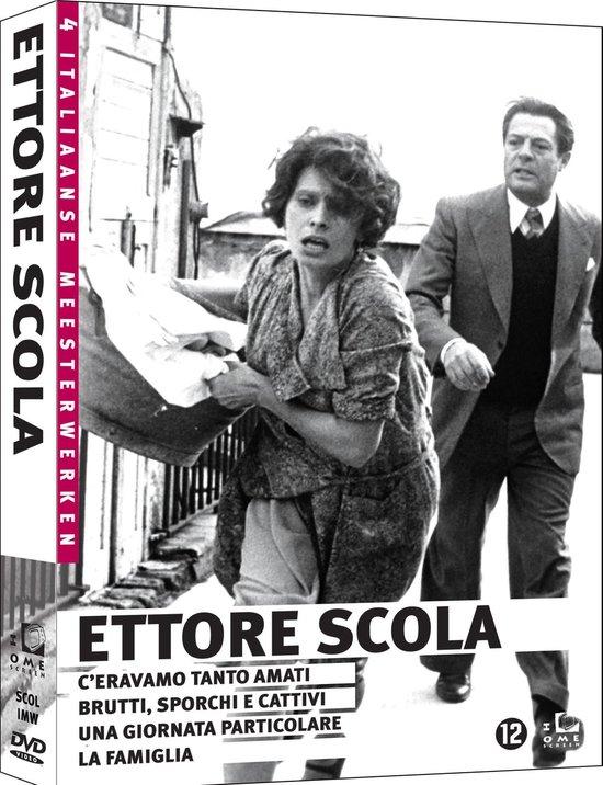 Cover van de film 'Ettore Scola Box'