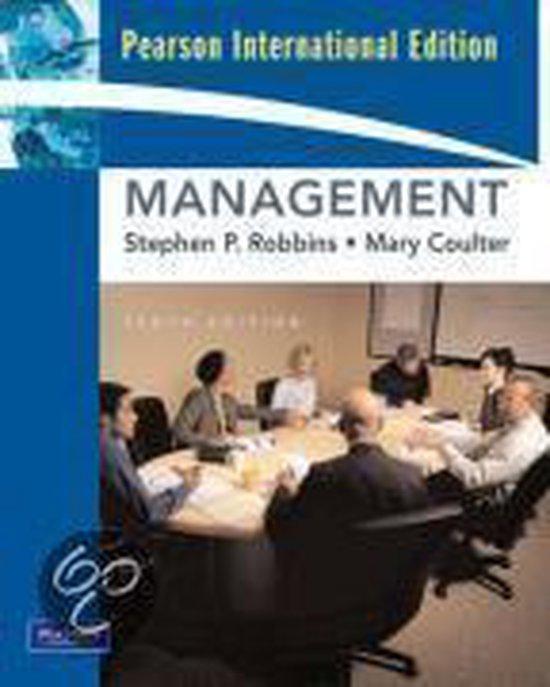 Boek cover Management van Stephen Robbins (Onbekend)