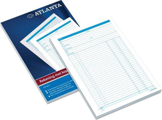 Atlanta rekeningenblok A5 2 x 50 vel