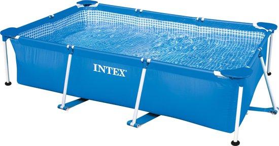 Afbeelding van Intex - Family Frame Zwembad - 260x160x65cm - Opzetzwembad