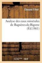 Analyse Des Eaux Min rales de Bagn res-De-Bigorre