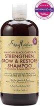 Shea Moisture Jamaican Black Castor Oil Strengthen, Grow & Restore Shampoo 480 ml