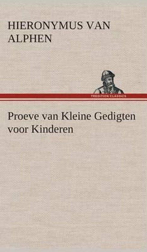 Proeve van kleine gedigten voor kinderen - Hieronymus van Alphen |