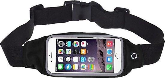 Running Belt Hardloop Riem Fitness Heuptas voor 5.5 en 5.7 inch Smartphones. iPhone 6s Plus/6 Plus/6s/6/5s. Samsung S6 S7 Edge Note 2 Hardlopen Waist Bag