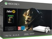 Xbox One X console 1 TB (Robot White Special Edition) + Fallout 76