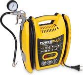 Powerplus POWX1705 Compressor - 8 bar -incl. 5 accessoires