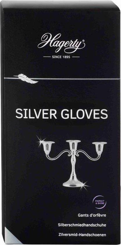Silver Gloves, handschoenen voor reinigen verzilverde verzilverde artikelen