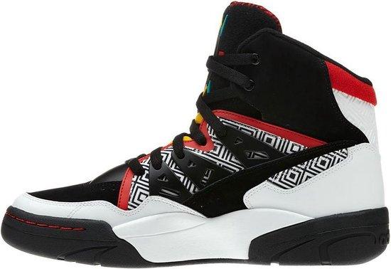 bol.com | Adidas Mutombo High Top Heren Sneaker Zwart Wit ...