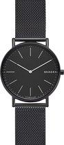 Skagen Zwart Mannen Horloge SKW6484