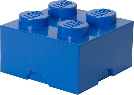 LEGO Storage Brick Opbergbox - 6L - Kunststof - Blauw