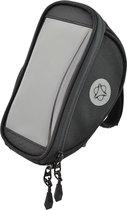 AGU Essentials Telefoonhouder fiets stuurtas - 0,8l - Zwart