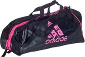 adidas Super Sporttas Zwart/Roze Large