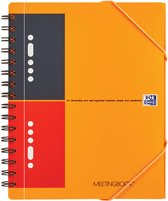 Oxford International Meetingbook notitieboek - A5+ Gelijnd - 160 pagina's