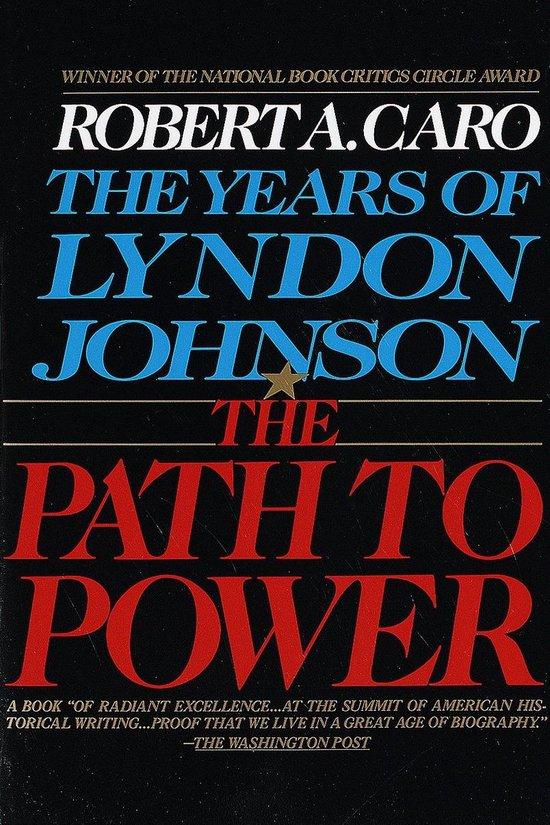 Boek cover The Years of Lyndon Johnson van Robert A. Caro (Paperback)