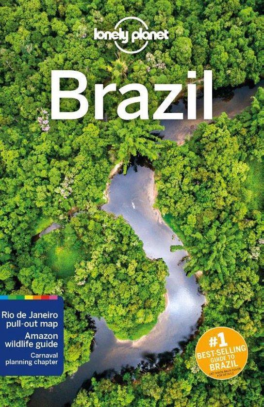 Boek cover Lonely Planet Brazil van Regis St. Louis (Paperback)