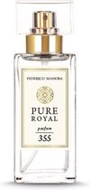 Parfum Pure Royal 355 Women & reisatomizer Brown