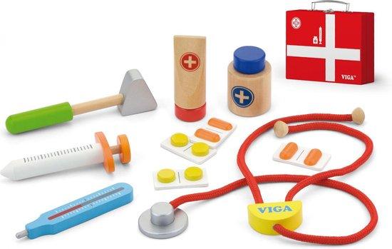 Viga Toys - Dokterset in Koffer